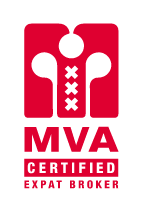 JA! Makelaardij is a Certified expat broker logo